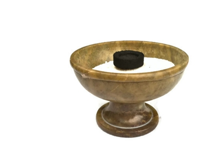 Soapstone Chalice Smudge And Resin Incense Burner